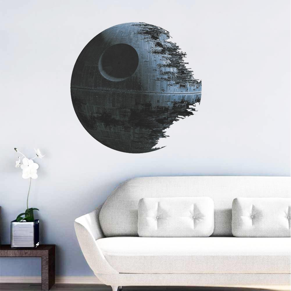 ultimately weapon Death Star wall stickers movie fans home decor zooyoo1441 kids wall decal mural art