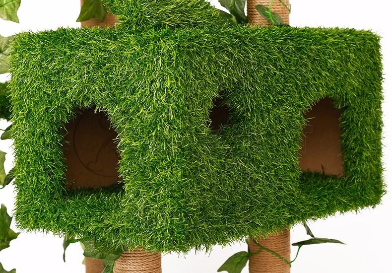 b8142cba72d0 Hoopet Banana Leaf Cat Tree Scratching Post Scratcher Cardboard ...
