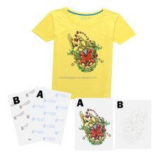 Laser dark self weeding transfer paper NO NEED CUT paper