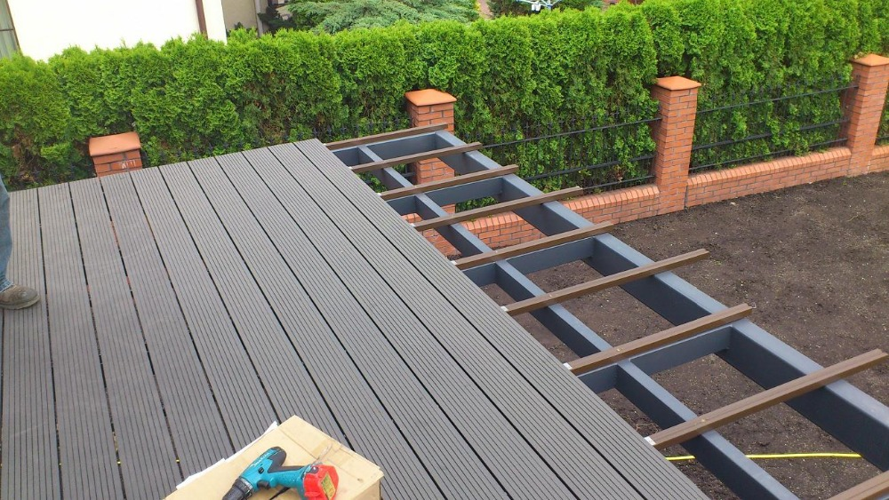 Wood Plastic Composite Decking : Wood plastic composite flooring gurus floor