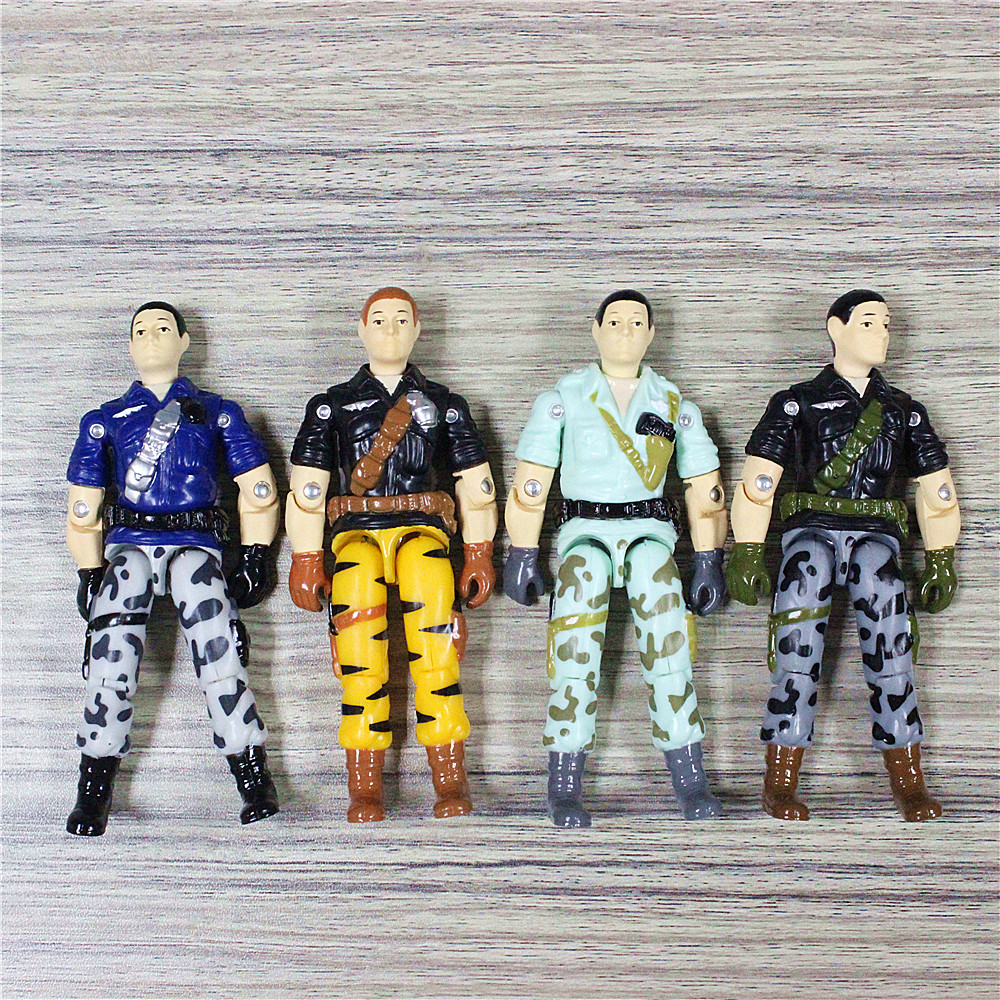 Camouflage Soldiers Special Forces Human Action Figure Toy