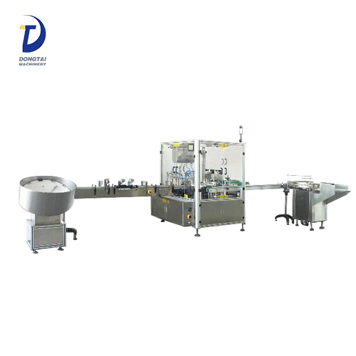 Factory price nasal spray /eye drops filling machine,mini bottle filling capping machine