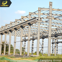 Prefabricated light frame steel construction hall