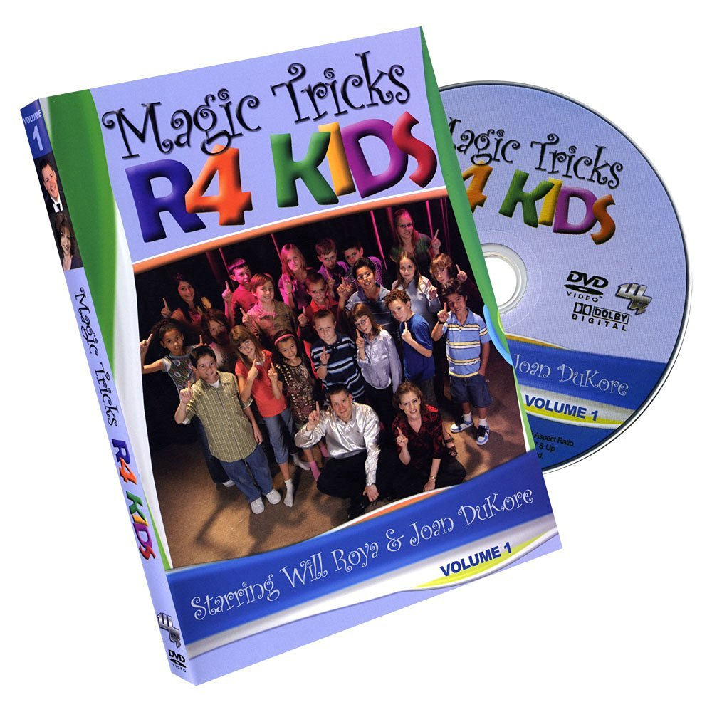 MMS Magic Tricks R4 Kids #1 by Will Roya and Joan DuKore DVD