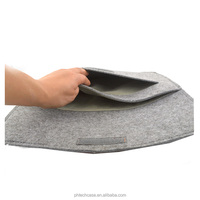 Laptop Sleeve Case Wool Texture Carry Notebook Bag