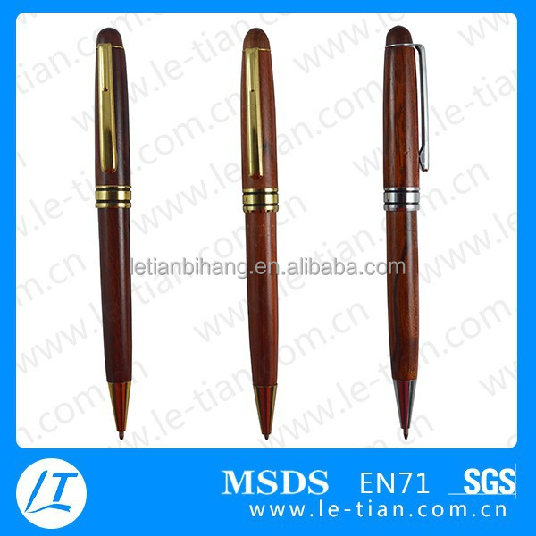 LT-Y804 Wholesale promotional wooded carved pen