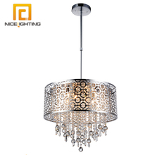 NICE lighting church hotel lobby ceiling pendant lamp orb crystal metal chandelier light