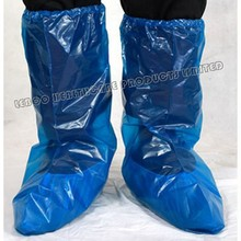 Waterproof disposable rain shoe cover