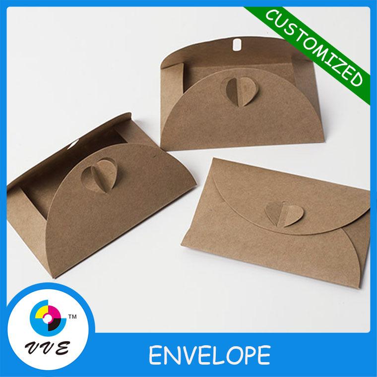 kraft paper invitation envelopes