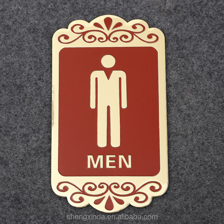 Bathroom Signs Wholesale metal toilet signs, metal toilet signs suppliers and manufacturers