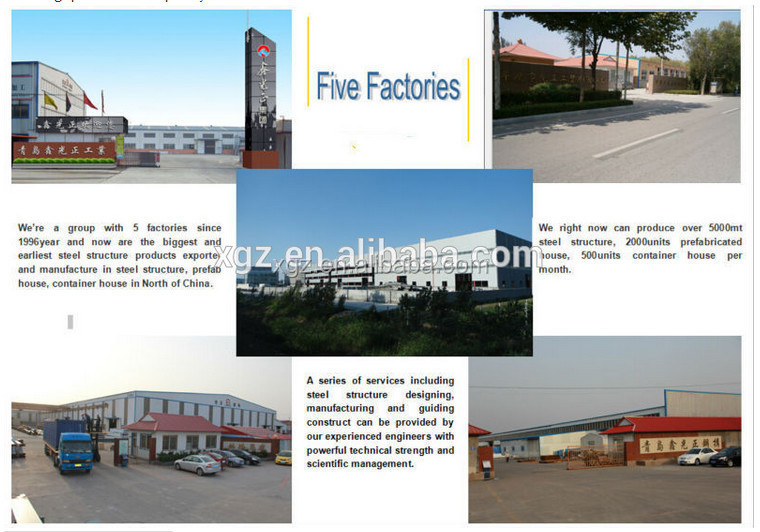 China Manufaactor Prefab Steel Structure football stadium