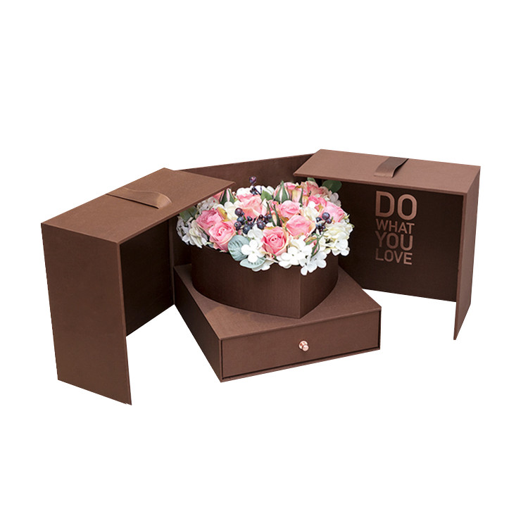 Magic Cube Gift Box Creative Double Flower Box Surprise Box