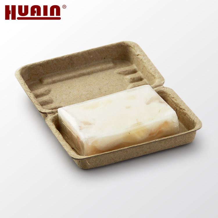 El servicio ODM de papel de pulpa moldeada caja de jabón