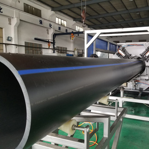 China Manufacture 355 450 110 180 Pe100 Black Pipes 160mm 24 Inch Drain For Drainage Pipelilne Hdpe Pn10 Plastic Water Pipe