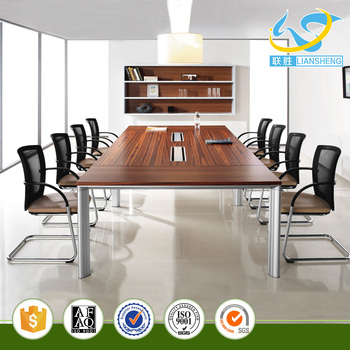 Person Seater Conference Table Wooden Meeting Room Table In Stock - 12 person conference table