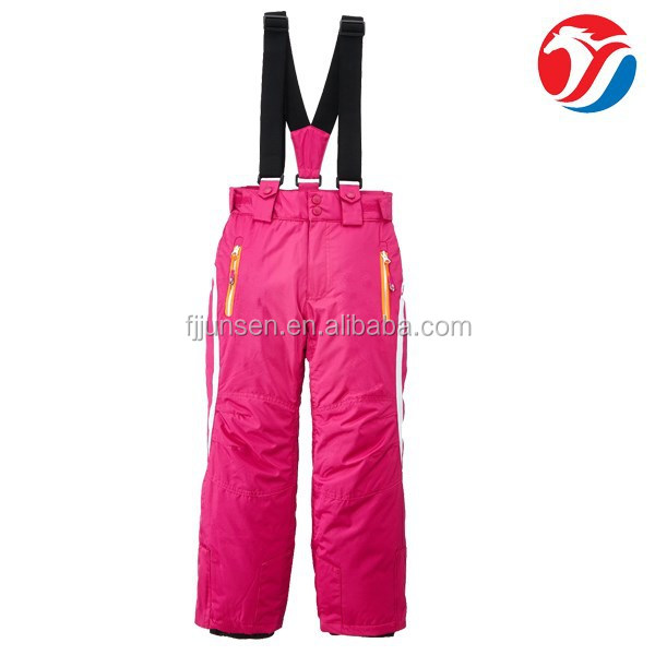 Latest fashionable winter outdoor ski pants kids