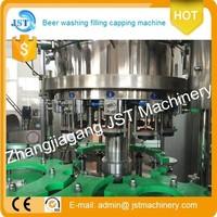 2000bph automatic L- type beer vacuum filling equipment