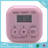 Simple Operation Digital Magnetic Digital Cook Kitchen Timer with Loud Alarm