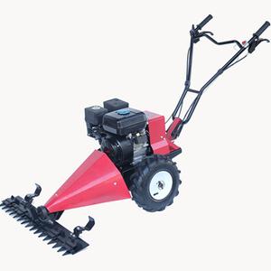 hand push lawn mower/196CC Sickle Bar Mower/hand mini mower