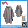 Promotional Breathable Waterproof Polyester Fabric Rain Poncho
