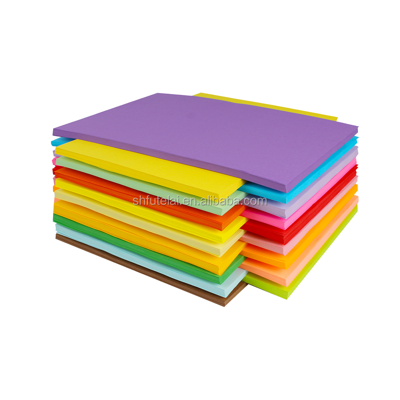 230G 250G colourful board paper colored paperboard colour paper