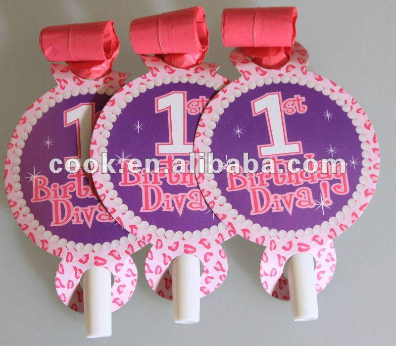 One year old themes party supply/party favors/party blowouts