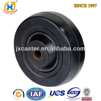 Premium 3 inch Small Rubber Wheel With Bearings For Replacement, For Outdoor