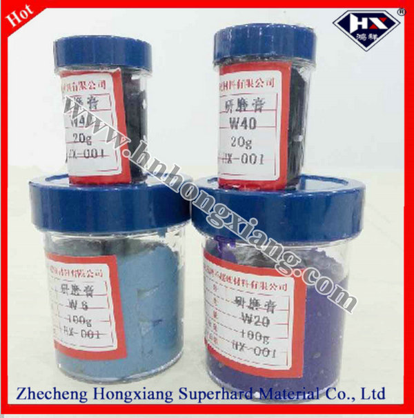 various grit size ,synthetic diamond fine polishing paste,