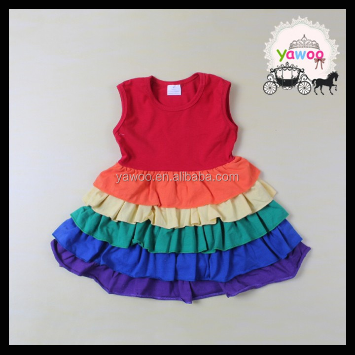 2016 Yawoo New Baby Girl Party Dress Children Frocks Designs ...