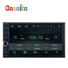 Dasaita 7'' Car Auto Radio 2 DIN Universal Car NO DVD player GPS with Aandriod 6.0 2G RAM Stereo Audio Head unit OBD