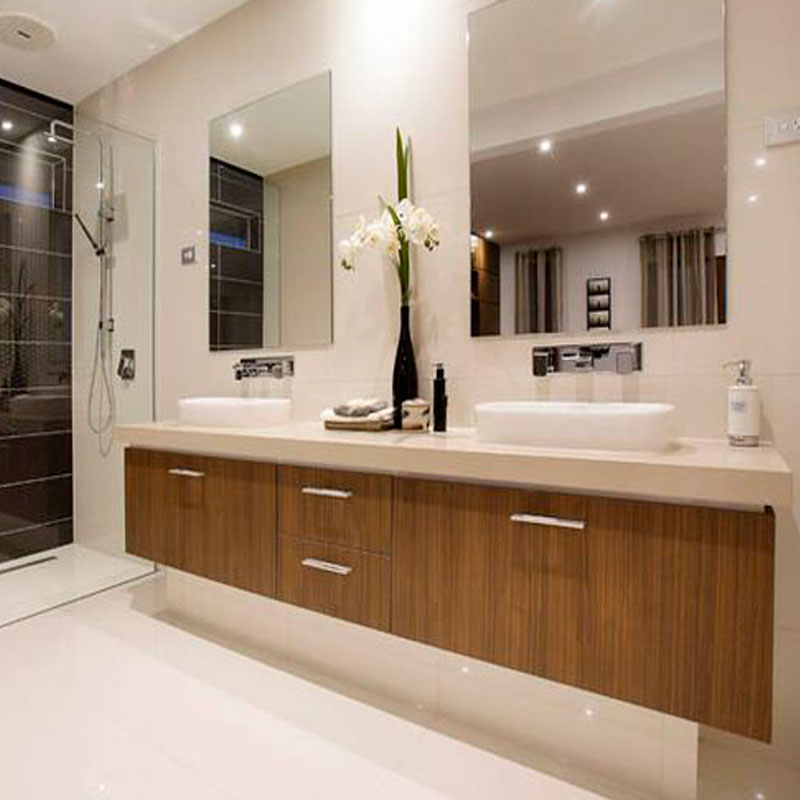 Floating Double Sinks Bathroom Vanity