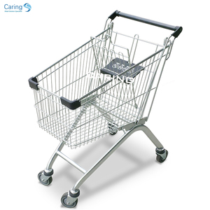 60 LITRE EURO STYLE SHOPPING TROLLEY L780MM X W450MM X H900MM