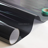 China manufacturer green car wrap vinyl film black car protection