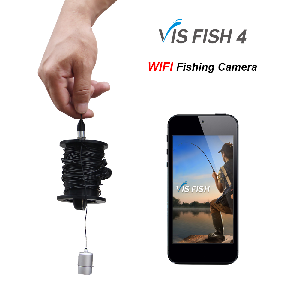 2017 NEW! lucky fish finder camera system WiFi P2P underwater fishing camera