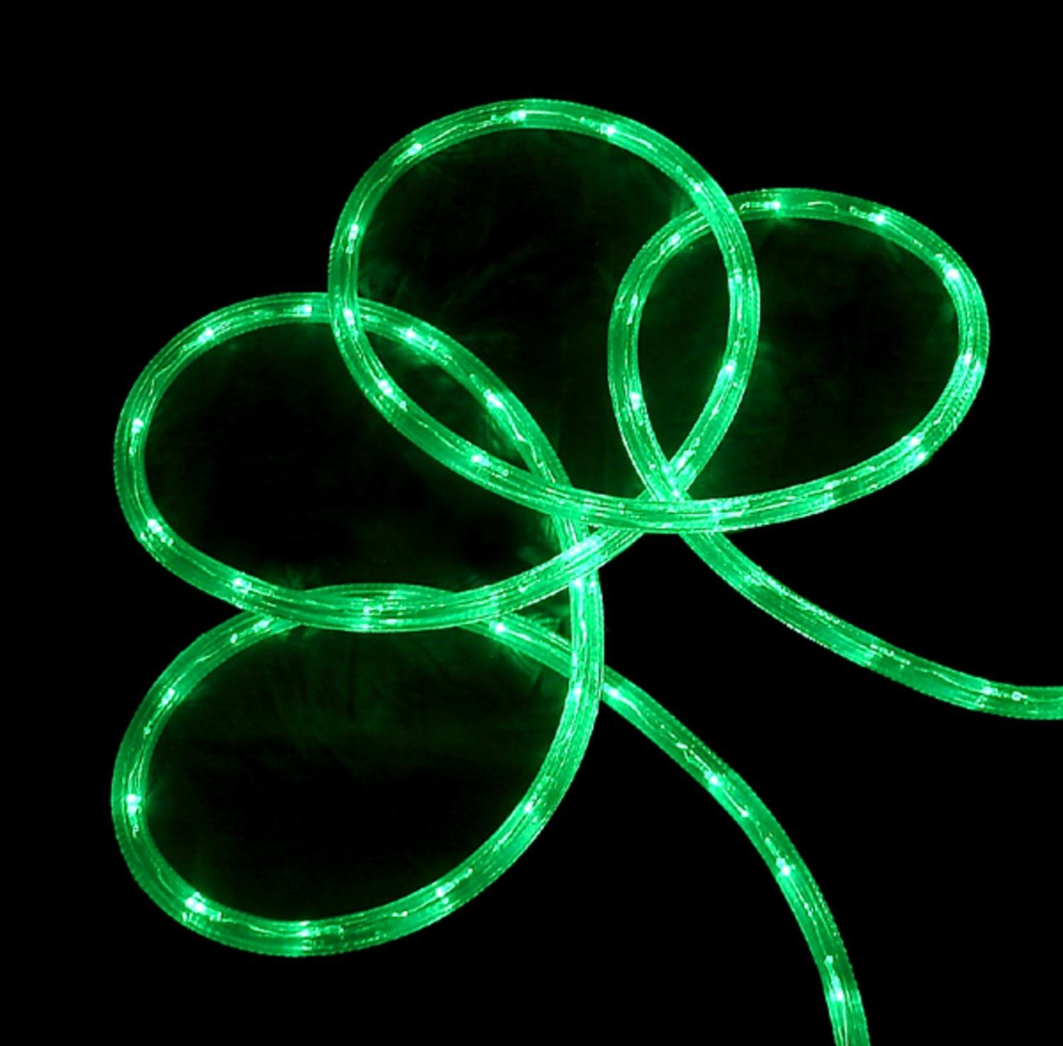 Cheap rope lights green find rope lights green deals on line at get quotations 150 commericial grade green led indooroutdoor christmas rope lights on a spool aloadofball Choice Image