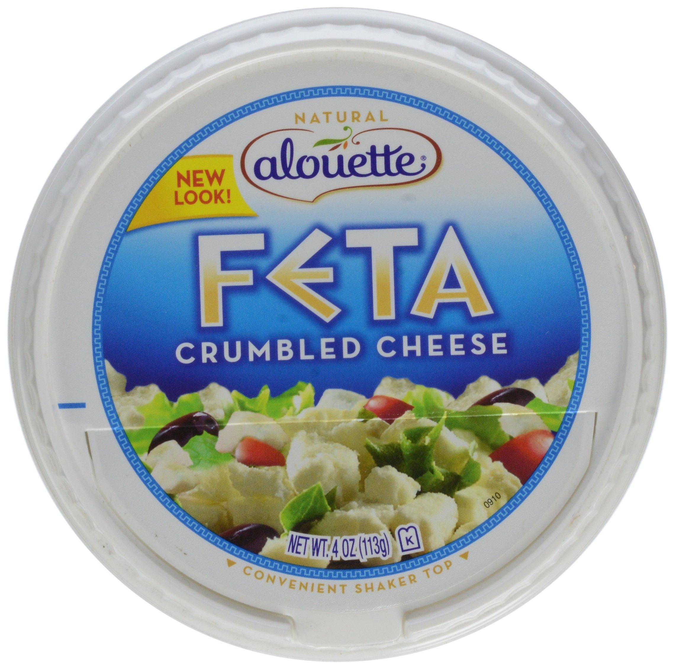 Alouette Crumbled Feta, 4 oz