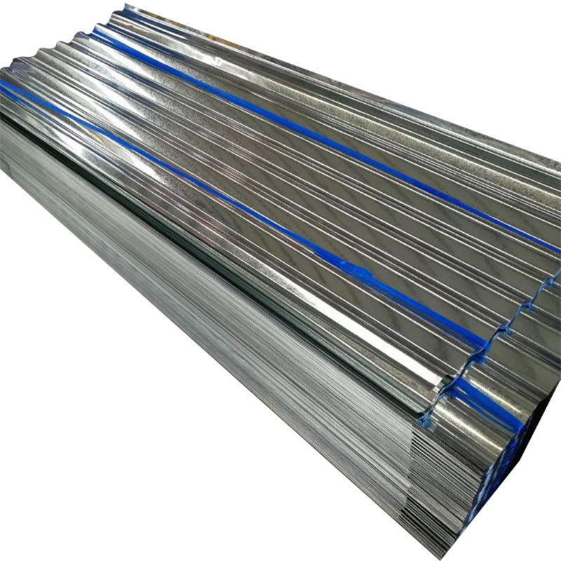 China manufacturer al-zn coated metal roofing tile 914/1000mm ppgi corrugated sheet 5 zinc galvanized price for sale