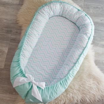 efbad29aa Cuna de bebé cama de doble cara pod nido para Recién Nacido co cama cuna  snuggle