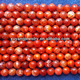 red fire agate beads (AB1465)
