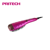 PRITECH Multifunctional Aluminum Alloy Plate LCD Display Steam Hair Straightener Brush With Spray