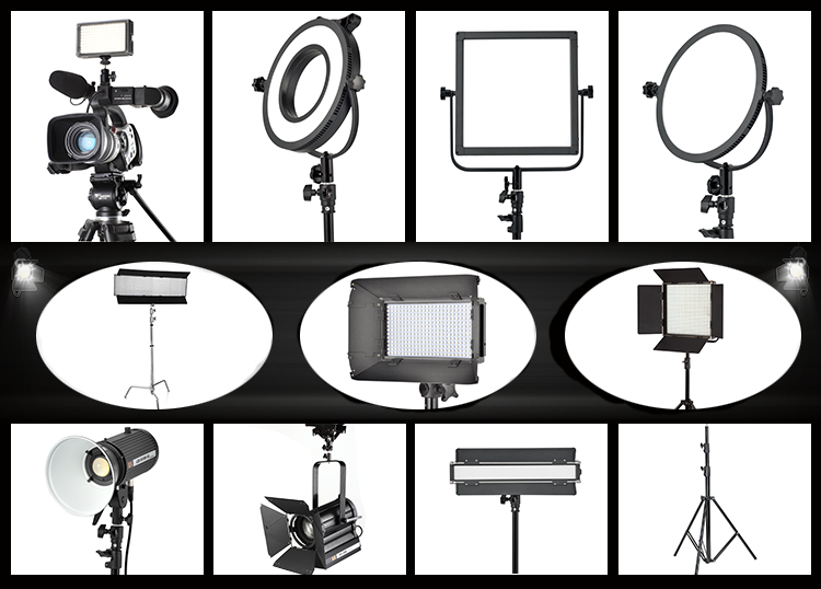 VictorSoft 18 LED Studio light, Studio and Video powerful light VR-2500ASVL Bi-color Dimmable