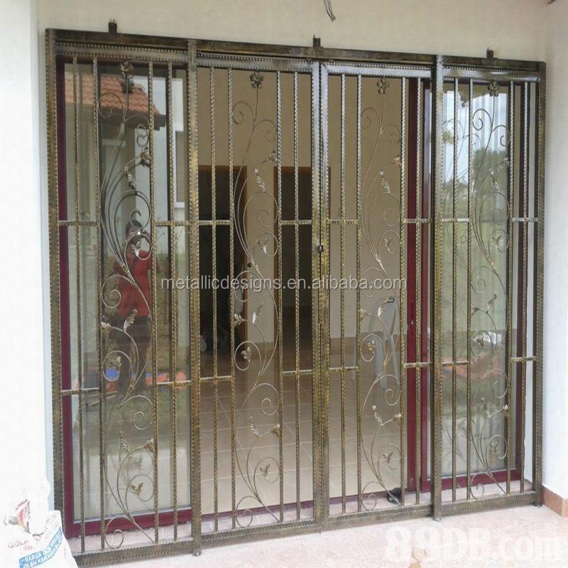 Modern Wrought Iron Window Grills 9
