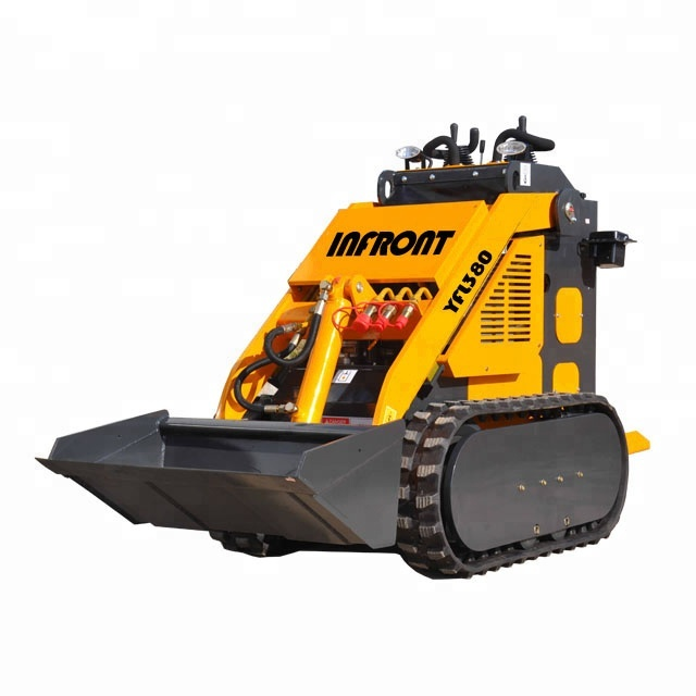 Infront YFL280 Mini Rubber Track Skid Steer Loader with factory price