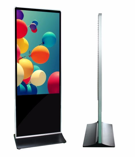 49 pollice free standing lcd pubblicità digital video display chiosco/totem