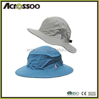 High Quality Adult Cotton Canvas Wide Brim Bucket Hat fishman Cap ... 0e446659e311