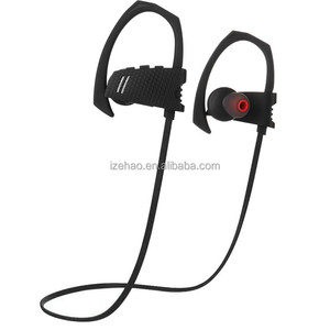 2019 factory price wireless waterproof headphones ear hook stereo sound noise cancelling bulk buy from China