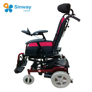 Lift up seat Tilt electric wheelchair for disabled