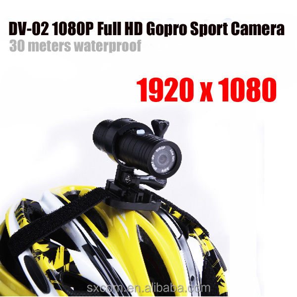 Full HD 100% Original Sport DV Waterproof 30M Action Camera Racing Camera Sport Camera DV-02