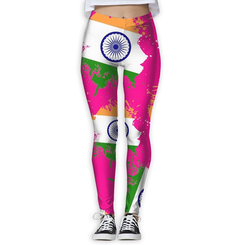 b6d50a782692 Get Quotations · Ytzs Pants Flag Of India Women 3D Printed Leggings  Activewear Lightweight Legging Yoga Pants