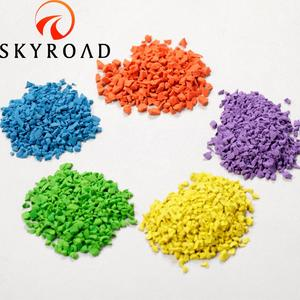 Colorful EPDM Rubber Granules for Running Track Surface